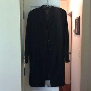 Uniform coat long